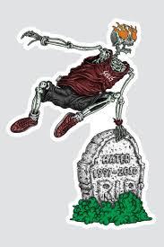 <b>Наклейка SKILLS Bone Runner</b> Разноцветный купить в интернет ...