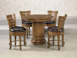 Tall Round Kitchen Table Tall Kitchen Table With 2 Chairs Al Fresco Gathering Table 5
