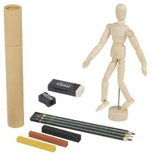 details about artist wooden mannequin model person figure drawing sketching pencils art set