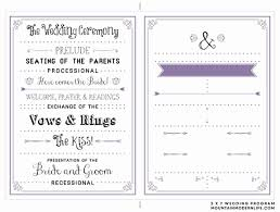 Party Agenda Sample 37 Printable Wedding Program Examples Templates Template Lab