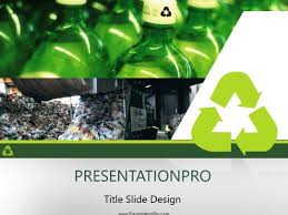 Recycling Powerpoint Template Background In Environmental