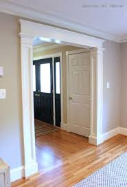 hardwood floor molding around brick fireplace oak laminate wood