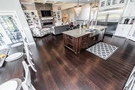 bamboo flooring coffee. Delighful Bamboo Coffee Handscraped Glue Down Bamboo Floor Dining654 And Flooring