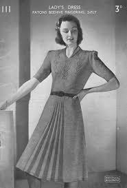 Vintage Knitting Patterns Impressive Vintage Ladies Knitting Patterns Available From The Vintage Knitting