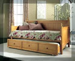 wooden daybed with trundle en daybeds uk white wood