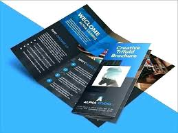 8 1 2 X Fold Brochure Template X Brochure Template 3 Fold