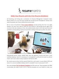 Free Resume Database Free resume database search 68