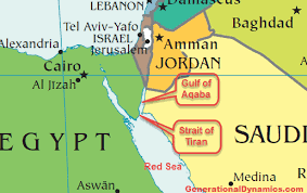 egypt, saudi arabia to build bridge where moses parted the red sea Egypt Saudi Arabia Map map showing the red sea, strait of tiran, and gulf of aqaba egypt saudi arabia relations