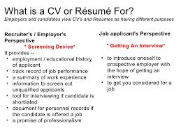 Cv Meaning For Resume Effective Cv Resume Writing 6 728