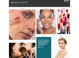 makeup artist websites templates makeup artist website template wix