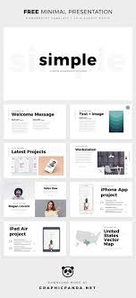 Pptx Themes Simple Minimal Free Powerpoint Template Pptx Download