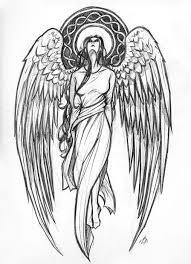 Angel Sketch Pin By Jonny Wang On Angels Tattoo Designs Guardian Angel