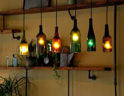Innovative Wine Bottle Light Fixtures Wine Bottle Light Fixture Innovative  Use Of These Bottles