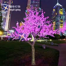 3 5m indoor landscape color changing artificial led outdoor lighted palm tree