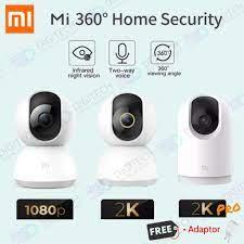 Xiaomi Mi Home smart Security Camera 360° 1080p, 2K Ip Cam INTERNATIONAL  Version Mijia 360