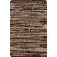 jeremias dark brown 2 ft x 3 ft area rug