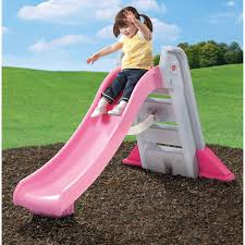 Amazon.com: Toddler Slides And Climbers Outdoor Kitchen Playsets For  Toddlers Indoor Children Swingset Kids Pink Slide Toy Fun Folding Backyard  Play ...