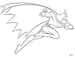 Small Picture Coloring Pages Bat Man Batman For Toddlers Online Hellokidscom
