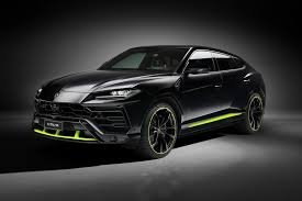 • when lamborghini debuted the urus, i was a part of the demographic that went wait, they did what?! the spartacus is a hulking suv concept that ticks the same boxes as the urus. 2021 Lamborghini Urus Graphite Capsule
