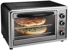best multi use hamilton beach countertop oven with convection and rotisserie