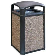 tall trash can. Tall Trash Can Cans A Outdoor Metal