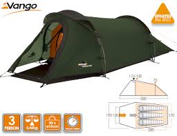 image of vango tempest 300 mountain tunnel tent 2016 model