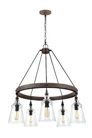 chandeliers rustic round iron chandelier feiss lighting loras dark weathered iron chandelier at destination lighting