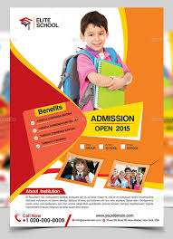 Handbill Template 40 Cool Flyer Templates For Kid School Desiznworld