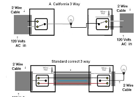 california 3 way switching doityourself com community forums the power coming into one switch and the light attached to the other switch you do not need a 4 wire cable