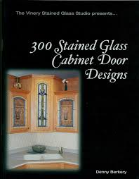 300 stained glass cabinet door window designs book bevel victorian prairie more