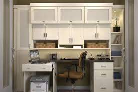 office built in closet