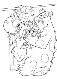 Kleurplaat Monsters En Co Monsters Kleurplaten Kleurplaten