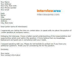 Thank You For Considering Me For This Position Simple Job Interview Thank You Letter Example