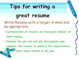 Creating A Good Resume Download Writing Tips Cover Letter Doc 2 For