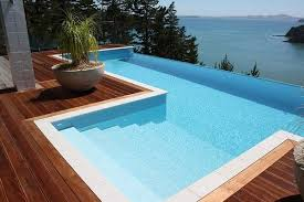 infinity pool design. Brilliant Design Amazing Above Ground Pool Design Infinity Deck Ideas Wooden With Infinity Pool Design N
