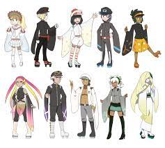 Senbonzakura-themed model concepts | Pokémon Sun and Moon