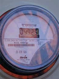 reading itron centron c1sr digital electric meter watt emulator itron electric meter animation