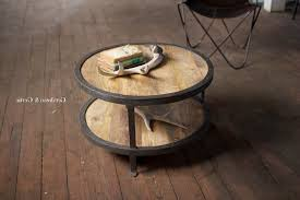 captivating wood rustic round coffee table ideas freepsychic org
