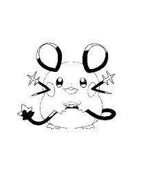 Kleurplaat Van Dedenne Pokemon Kleurplaatnl