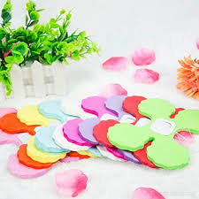Paper Flower Garlands Aideal 6 Pack Four Clover Paper Flower Garlands 3 6m Each Tissue Hanging Garland Party Streamers Perfect Decorations For Wedding Birthday Party