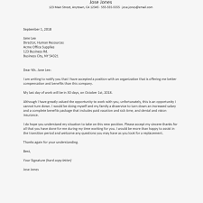 Resignation Template Letter Of Resignation For Better Pay Template