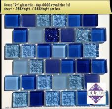 dap 0000 royal blue 1x1 glass pool tile