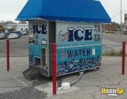 Ice Vending Machines Delectable Commercial Ice Vending Machine Drive Up Ice Kiosk For Sale In Ohio
