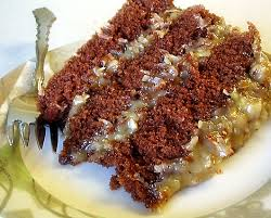 slice of german chocolate cake. Plain Cake A Wee Slice Of German Chocolate Cake Throughout Slice Of Chocolate Cake H