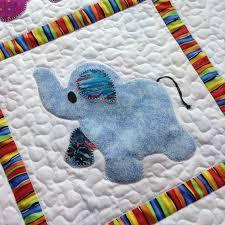 Best 25+ Crib quilt size ideas on Pinterest   Crib quilts, Baby ... & Elephant Treasures handmade quilt baby boy Adamdwight.com