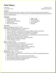 Electrician Apprentice Resume Samples Electrician Apprentice Resume Templates Resume Resume