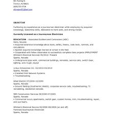 Journeyman Electrician Job Description For Resume Free Wiring