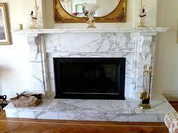 20mm Calacatta Marble Intricate Fireplace