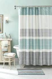Sage Green Striped Shower Curtain Shower Curtains Design