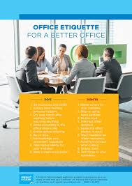 posters for office. Office Etiquette For A Better Workplace Posters L